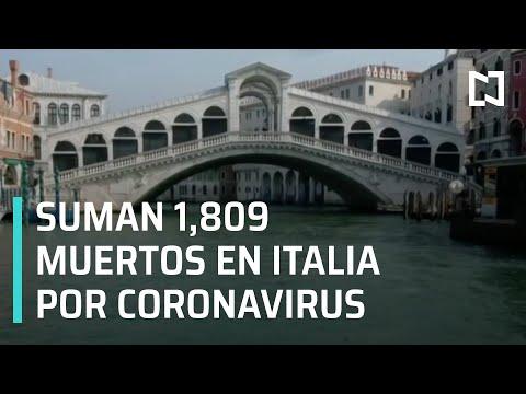 Coronavirus: Italia registra más de mil 800 muertos - Las Noticias