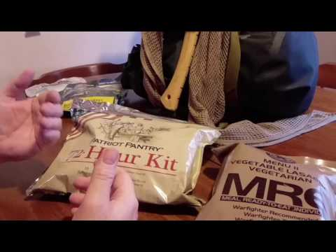 My Pack food and field rations also some tips and tricks for MRE's