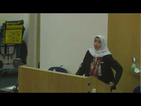 Importance of Social Justice by Sarah Joseph in Uni of Nottingham DIW 2013 - Part 1 of 4
