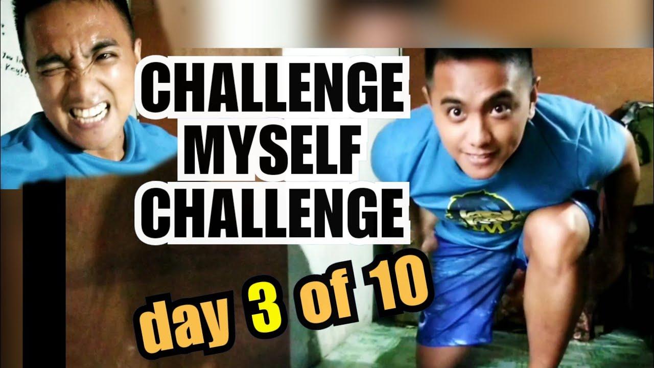Day 3 of 10 | CHALLENGE MYSELF CHALLENGE | NO LIMIT PUSH UPS