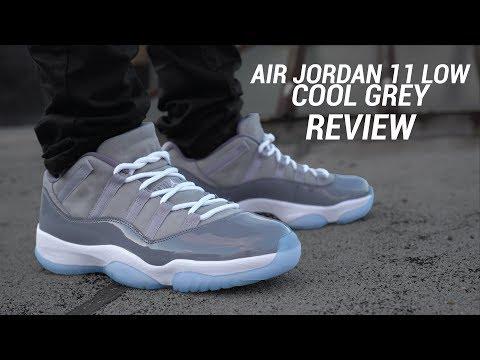 low top gray 11s