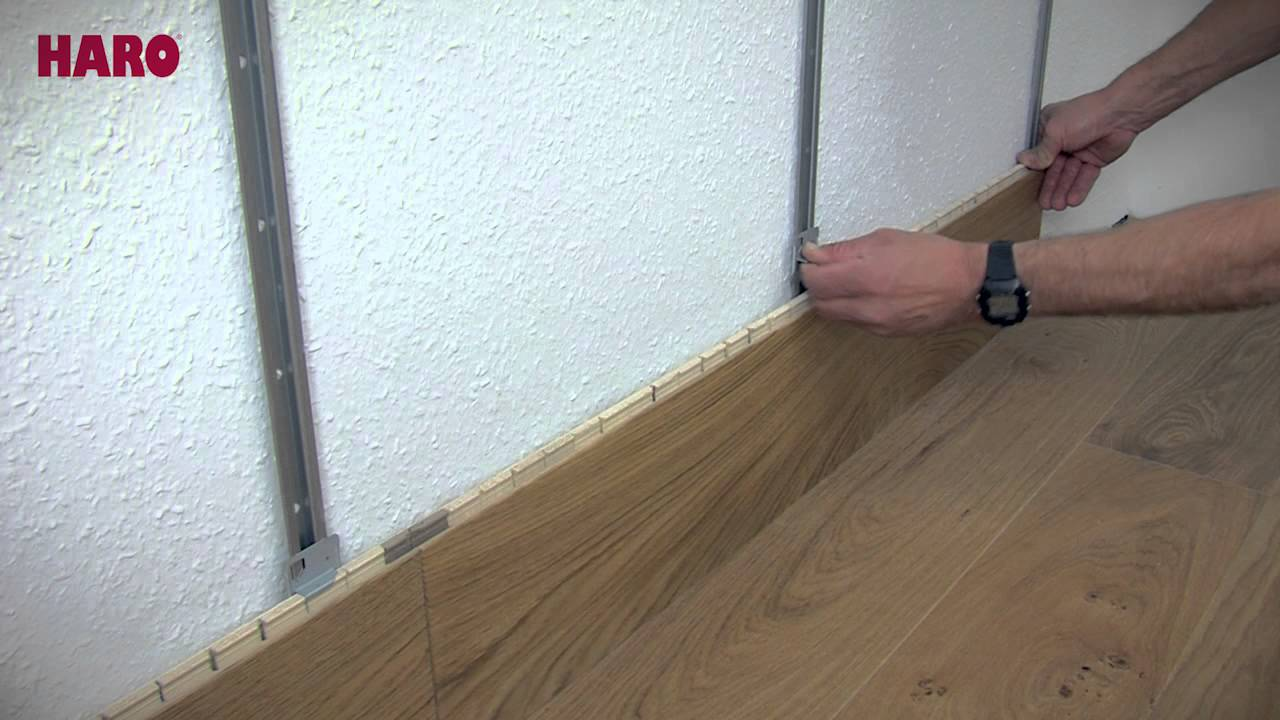 Installation Instructions For Quot Floor On The Wall Quot Haro