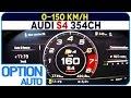 ★ 0-150 km/h • Audi S4 Berline (Option Auto)