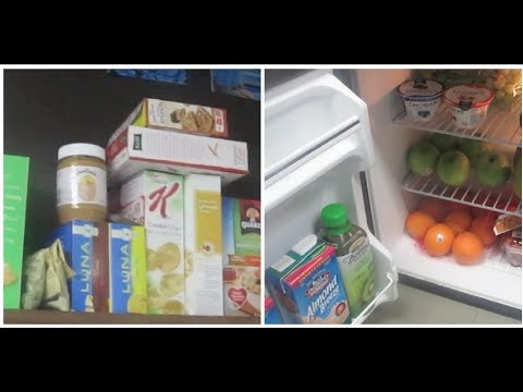 What Food I Keep In My Dorm Room! Part 18