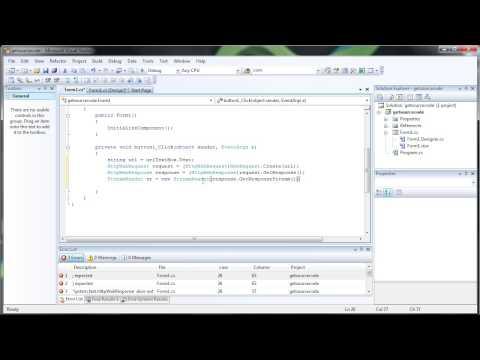 how to create a web scraper