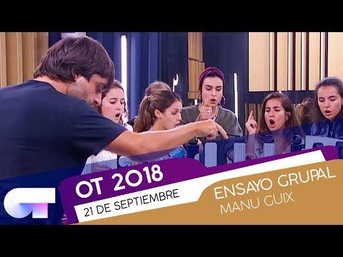 ENSAYO GRUPAL con MANU GUIX (21 SEP) | OT 2018