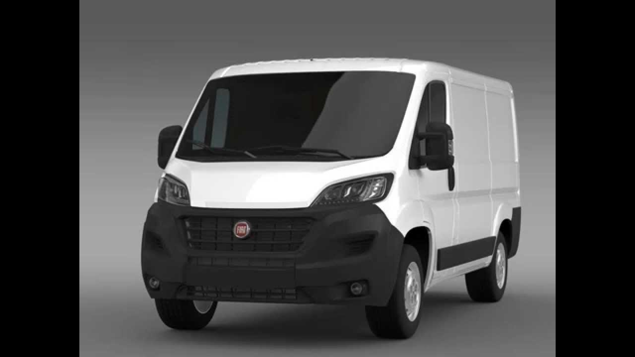 3d model of fiat ducato van l1h1 2014 review youtube. Black Bedroom Furniture Sets. Home Design Ideas