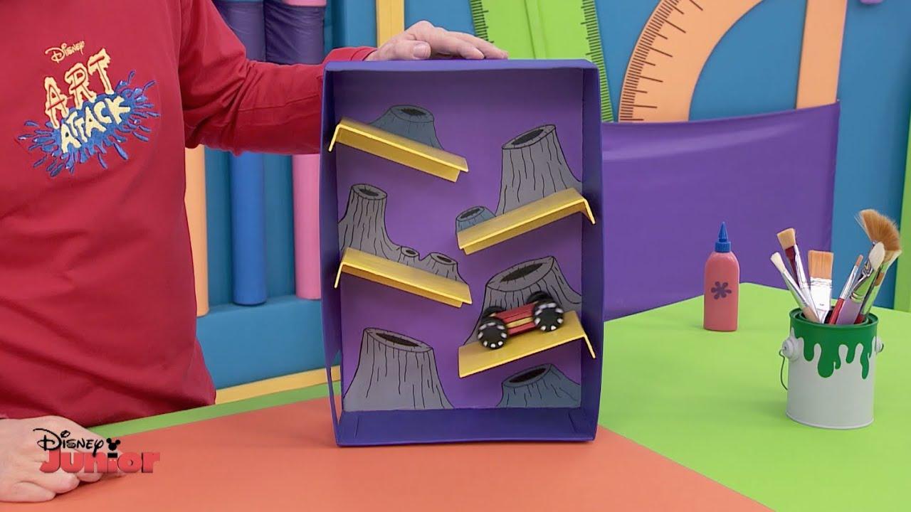 Art attack space planet disney junior uk hd youtube - Videos de art attack manualidades ...