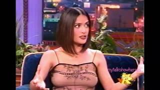 SALMA HAYEK has FUN with LENO