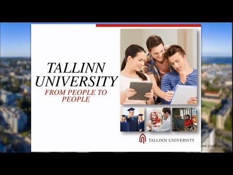 Tallinn University's webinar (2015)