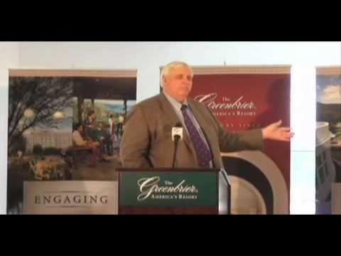 Greenbrier Valley Airport Press Conference