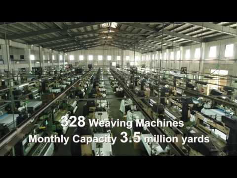 WidePlus2017 Company Video (Functional Fabric Company @Taiwan)