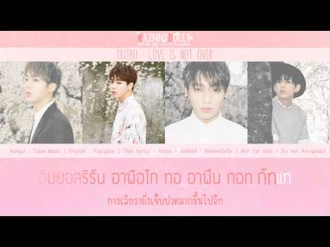 [THAISUB] Outro : Love Is Not Over - BTS (방탄소년단)