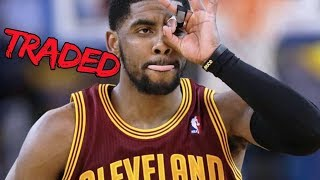 Kyrie Irving Traded to… NBA Fan Reaction