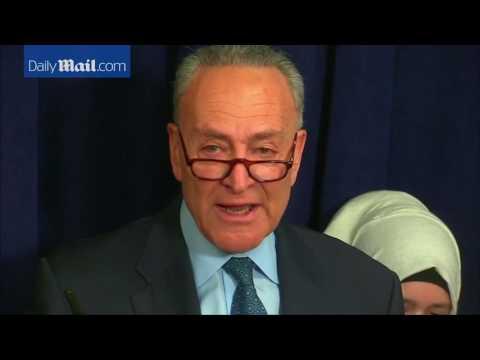 Sen Schumer cries, calls immigration order