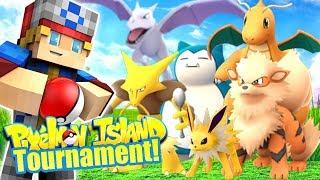 PIXELMON ISLAND TOURNAMENT! (Minecraft Pokemon) Pixelmon Island #10