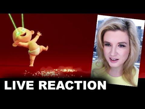 The Incredibles 2 Teaser Trailer REACTION