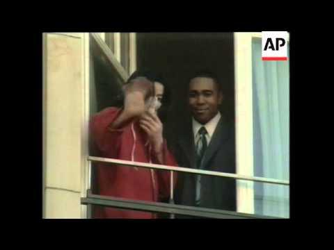 Michael Jackson's balcony window