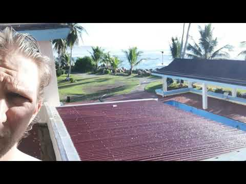 Morning Balcony at Hotel Menen   Nauru   August 2019