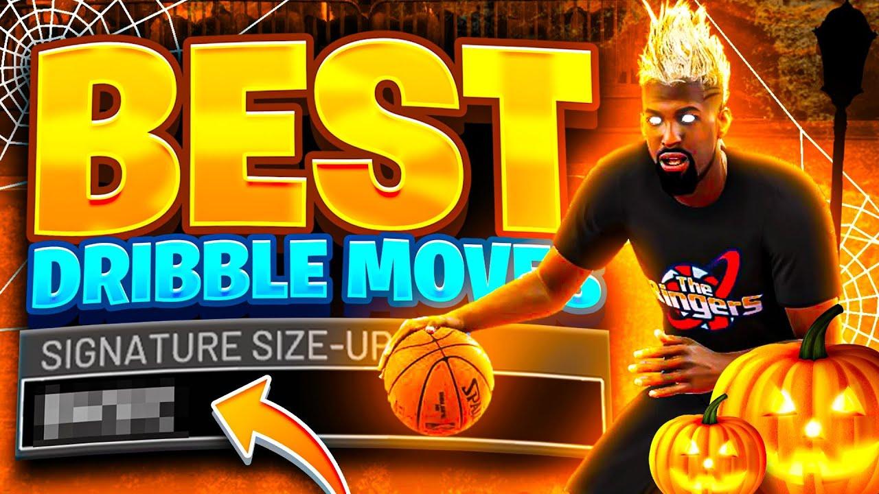 BEST DRIBBLE MOVES + COMBOS REVEALED • ULTIMATE DRIBBLE CHEESE TUTORIAL HANDCAM NBA2K22
