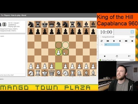 Chess Variants: Crazyhouse, 3Check and King of the Hill! from YouTube · Duration:  1 hour 19 seconds