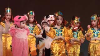 朗思幼兒園畢業典禮表演3