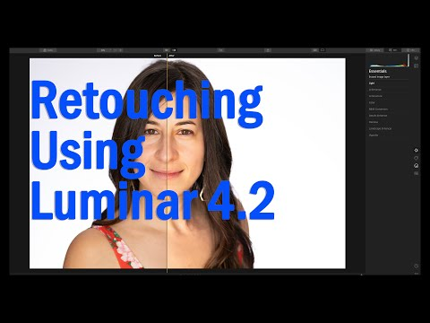 Skin And Portrait Retouching With Luminar 4.2 AI Tools
