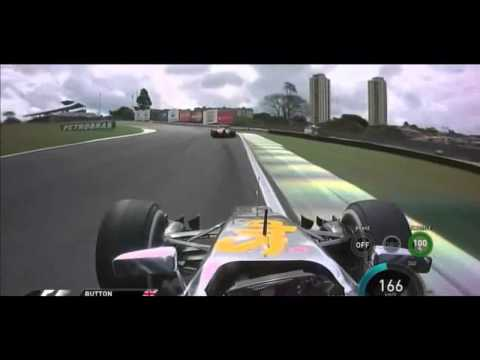 F1 2014 - Button x Raikkonen In Brazil[HD]