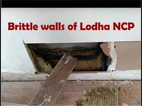 NEW! Live demo of Lodha New Cuffe Parade's Internal walls strength