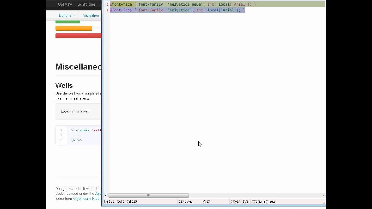 Chrome Helvetica bug (1/2)
