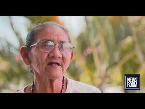 OLDEST WOMAN AMERINDIAN CHIEF NOT BACKING DOWN