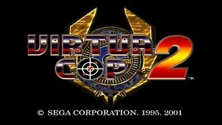 Virtua Cop 2 - Complete Walkthrough