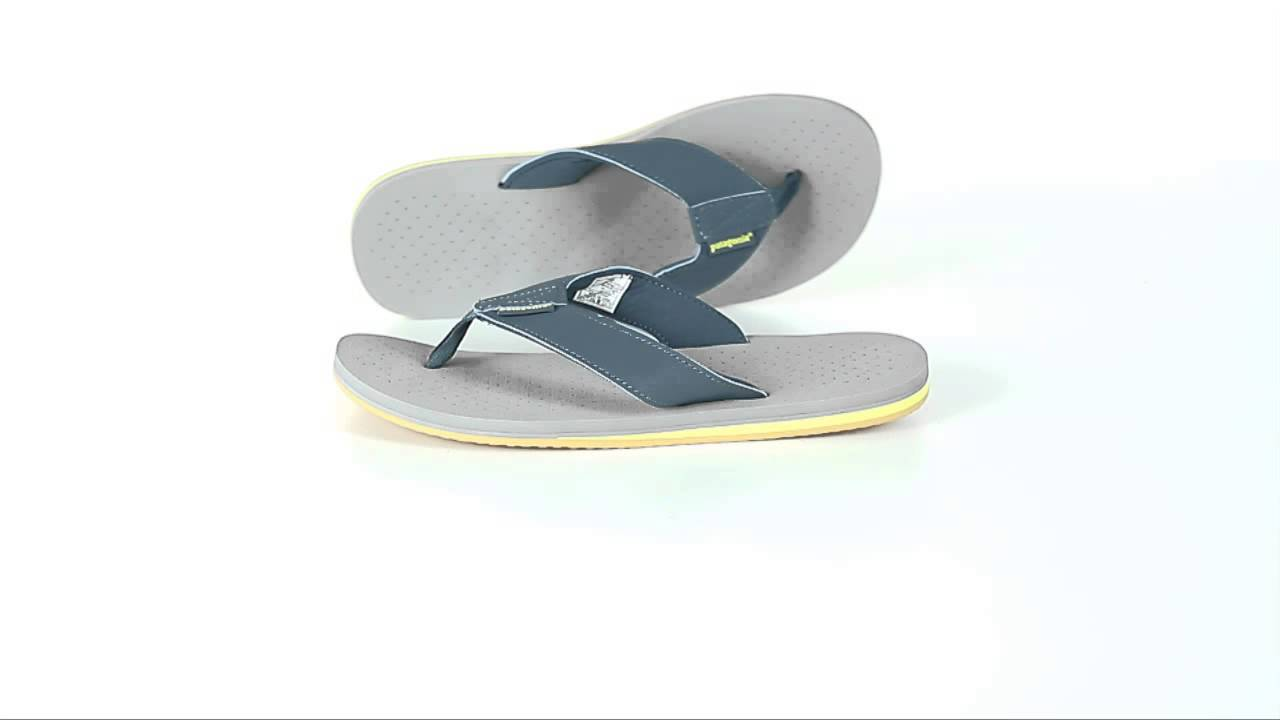 9cd75f40e Patagonia Reflip Flip-Flop Sandals (For Women) - YouTube