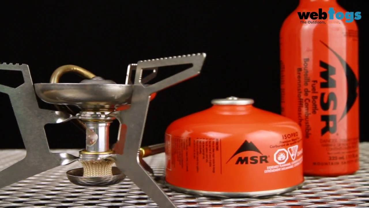 How to change an MSR WhisperLite Stove Fuel Adapter