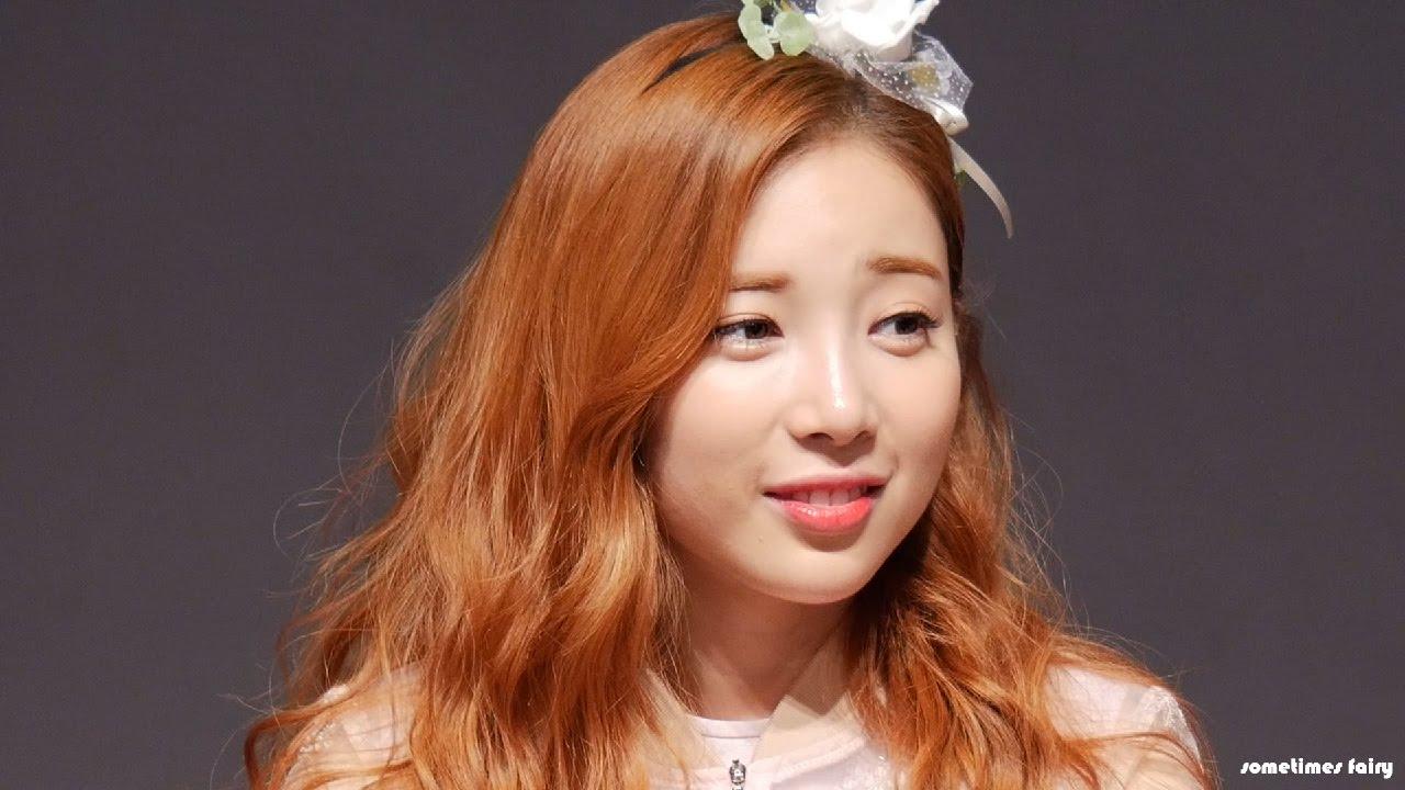 170121 에이프릴(APRIL) 강남 팬사인회 윤채경 깨알컷