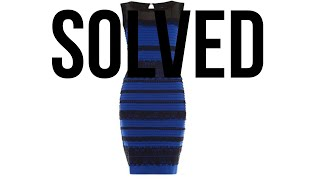 Is the Dress White and Gold or Blue and Black (SOLVED)