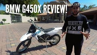 BMW G450X REVIEW!