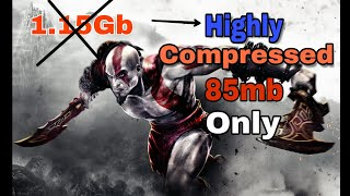 {85mb} Highly Compressed | God of war Chain of Olympus | Android Game | proof with Gamplay/by Dtech