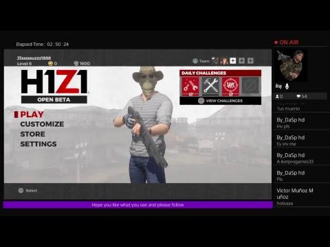H1Z1 my gameplay Pt. 2