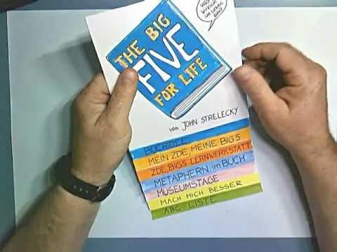 Big Five for Life in einem Memoflip aufgearbeitet