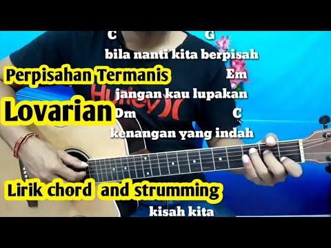 Chord Mudah (Perpisahan Termanis - Lovarian) By Darmawan Gitar ( Tutorial Gitar) Untuk Pemula