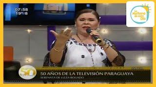 "Lizza Bogado presenta  ""Un solo canto"""