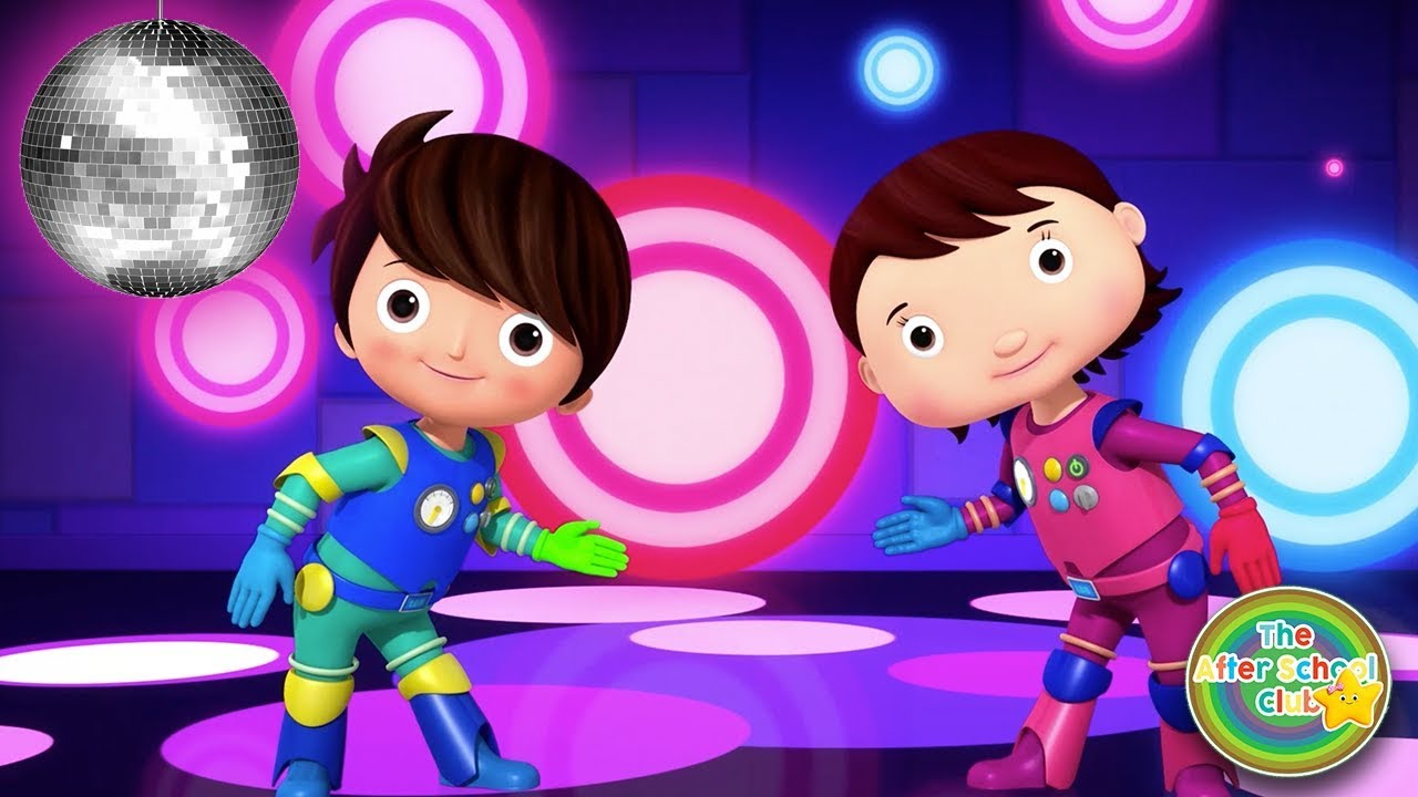 Learn The Robot Dance ! | Party Songs For Kids | Little Baby Bum | ABCs and 123s