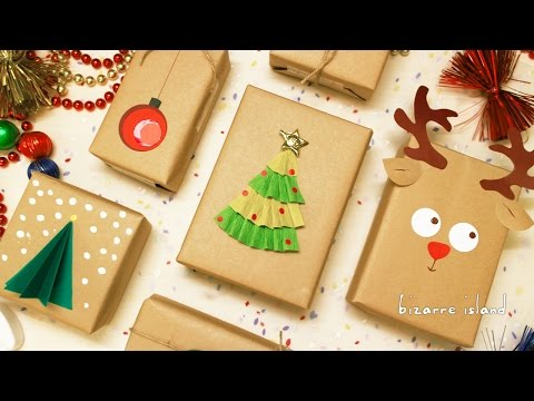 8 Last Minute Gift Wrapping Ideas   c for craft