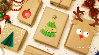 8 Last Minute Gift Wrapping Ideas | c for craft