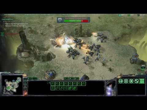 StarCraft 2 Wings of Liberty, одиночная кампания (7-минутный ролик)