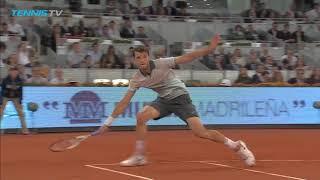 Grigor Dimitrov defeats Novak Djokovic in 2013 epic in Madrid