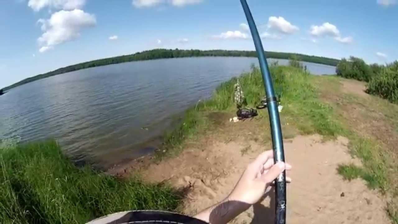 Ловля леща на маховую удочку видео