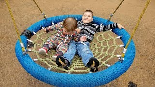 ABC Song Outdoor Playground for Kids Baby Nursery Rhymes Songs Family Fun Playtime