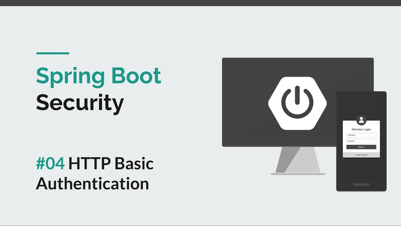 [Spring Boot Security] #04 HTTP Basic Authentication